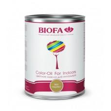 8521-01 Цветное масло для интерьера Color-Oil For Indoors. Серебро.