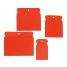 Шпатели из пластмассы 5-8-10-12 см